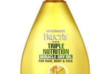 Spring Refresh & Garnier Fructis  / Hair and Hair products