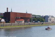 Modern architecture Krakow / Modern monuments in Krakow