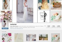 KWH BRIDAL - Instagram / facebook / blog / For more pics: kwhbridal / by KWH BRIDAL