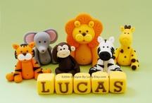 Cute Fondant Figurines