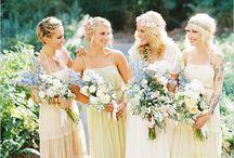 Pale yellow wedding theme