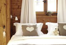 Chalet bedrooms / Ideas for an Alpine modern look