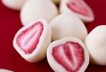 White chocolate sewberries