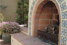Cindi - Pine Terrace Patio Ideas / Idea board to inspire ideas for southwestern and Spanish patio details