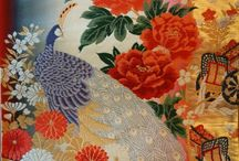 Vintage kimono and obi / Treasure of meticulous handwork from the rising sun country
