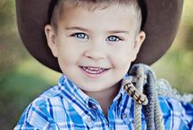 photography little cowboy
