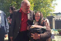 Echipa PSD Argeș în campanie electorală