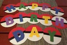 decoración cumpleaños pokemon