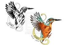 king fisher tattoo