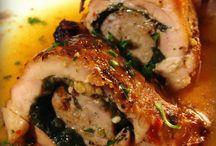 Chicken dishes / Different chicken dishes