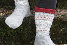 Knittet socks