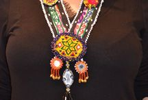 Afghan necklace,