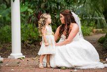 Bride & Bridesmaids - Wedding / A collection of photos of the bride and her bridesmaids on the wedding day.