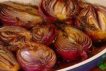food: onion & mushrooms ect:::