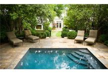 Pool fun and landscaping
