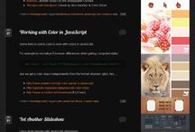 Web Project: mg Pinterest Strips / A WordPress widget to display Pinterests pins as vertical strips in your blog.