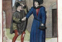 Medieval men's coats