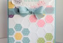 Cuttlebug Honeycomb Embossing Folder