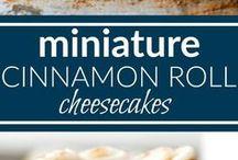 miniature cinnamon cheesecake rolls