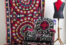 Textiles, colors combinations & prints