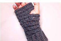 Mítones crochet