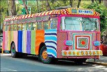 Yarn bombing / Yarn guerilla