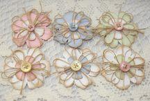 Цветы handmade