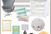 Nursery and kid's room inspiration