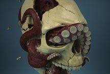 CG skull