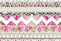Patterns / Tribal, southwest etc