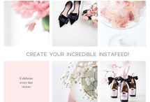 Social media templates / Social media templates for the Instagram, Facebook, blog and business. Animated Stories, templates post, mood boards for inspiration and works.