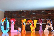 Madelyn's own MLP party
