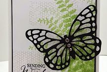 Cards - Stampin Up butterfly basics
