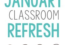 January Classroom / January Resources, Activities, and Ideas for Math Teachers, Educators, and Students in Upper Elementary and Middle School - New Year, New Years Day, New Year Refresh, Martin Luther King Day