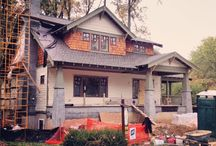 Authentic Craftsman Bungalows Under Construction