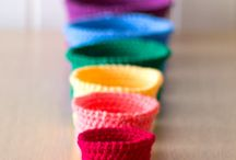 Crochet Baskets and Bowls