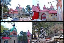 Сосновый бор / Город в Лен. области, еще недавно закрытый, с прекрасным сказочным городком и великолепной природой!