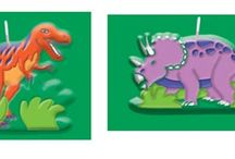 Dinosaur Themed Party Ideas / Dinosaur themed party ideas, dinosaur birthday cake recipes, food for dinosaur themed parties, dinosaur games for a birthday party, dinosaur party food.  Helpful suggestions and tips for a dinosaur themed children's party.