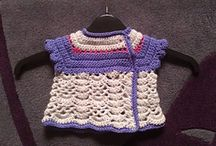Baby and toddler clothes - knit and crochet