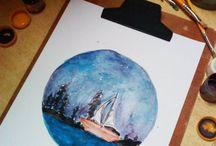 ∆ Minhas Ilustrações / Desenhos, releituras e criações feitas por mim.