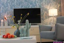 WOONKAMERS / Gezellige, stijlvolle en sfeervolle woonkamers. Te zien in Eigen Huis & Tuin