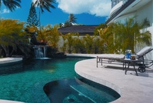 Pool and Patio Design Ideas / Natural stone pavers  and tile bring elegance to pool and patio designs, especially when it's a quality marble limestone like Authentic Durango Stone. Get inspired by these project photos!