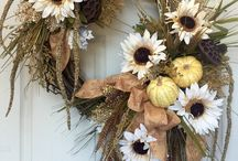 Fall Decorating / Decorating ideas for inside and outside the home