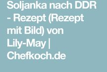 Backen Kochen DDR