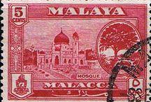 Malaya - Malacca Stamps