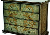 Decorative painted furniture / by Ann Steinhauser