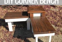 Benches and comer benches