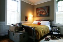 Moody bedrooms for reading / by olive14