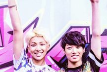 Jungkook and Rap Mon