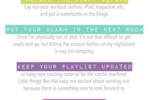 Workout Tips / Tips